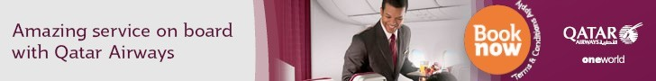Check out Flash Sales on Qatar Airways